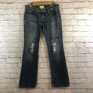 Taverniti Peggy Jeans Size 31 Flare Denim